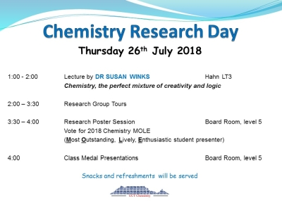 Chemistry Research Day - 2018